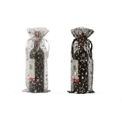 Organza sacchetti per bottiglie stelle