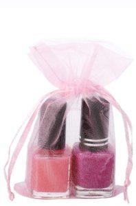 Sacchetti di organza 7x12cm rosa