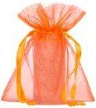 Sacchetti di organza 15x20cm arancio