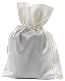 Sacchetti raso 15x20cm bianco