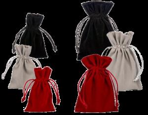 velvet pouches
