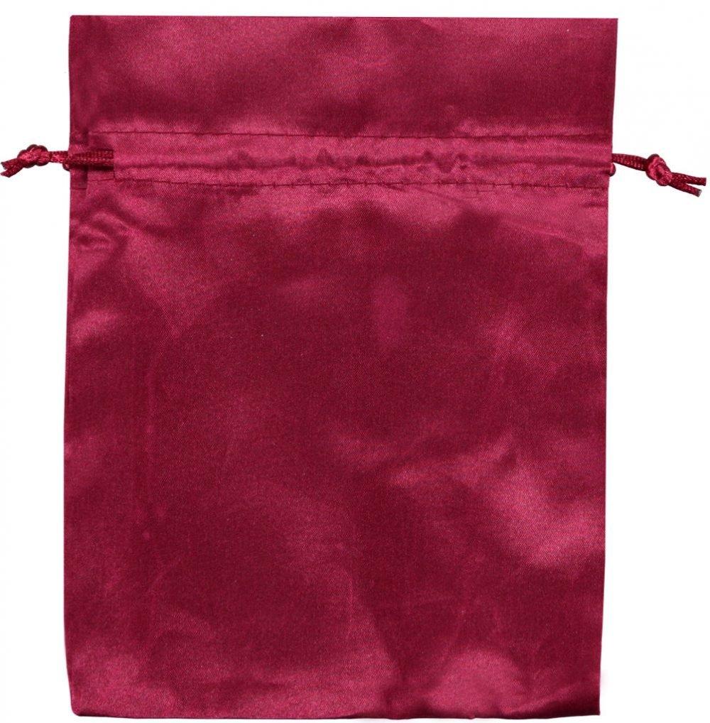 Sacchetto raso 15x20 cm rosso (2)