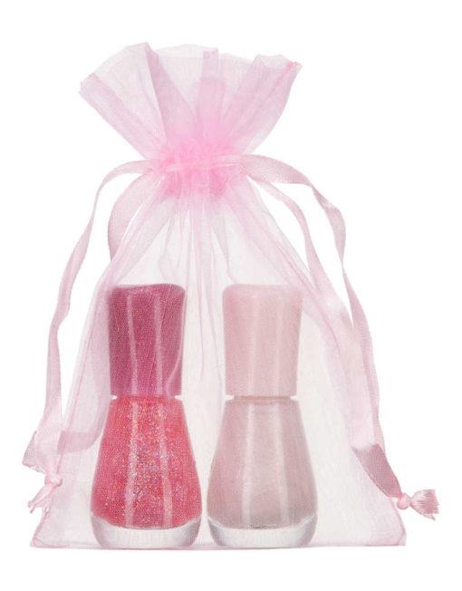Sacchetto organza 10x15cm rosa2.0