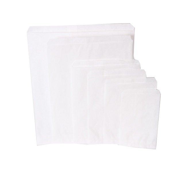 1000 pezzi Sacchetti di carta bianca Scegli tra diverse dimensioni (5)