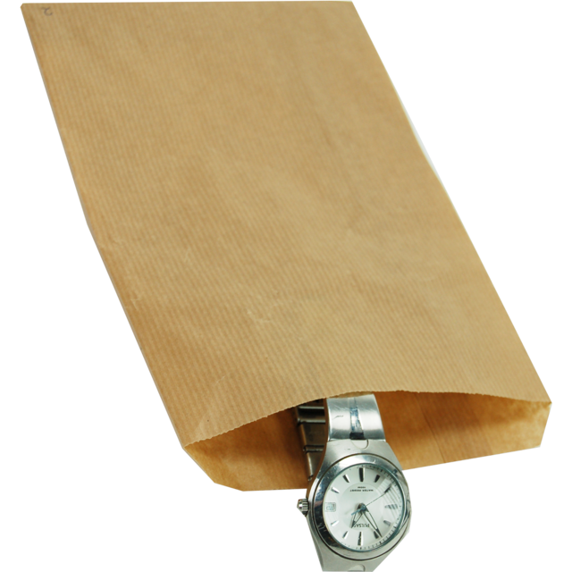 1000 pezzi Sacchetti di carta kraft neutrali Scegli tra diverse dimensioni