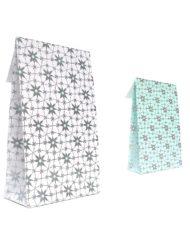 50 pezzi Sacchetti carta Fiore Artico Trip adesivo e blocco di fondo 10x15,7x4 of 14x23x5,5cm (2)