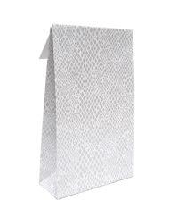 50 pezzi Sacchetti regalo di design Serpente Trip adesivo e blocco di fondo 10x15,7x4 of 14x23x5,5cm