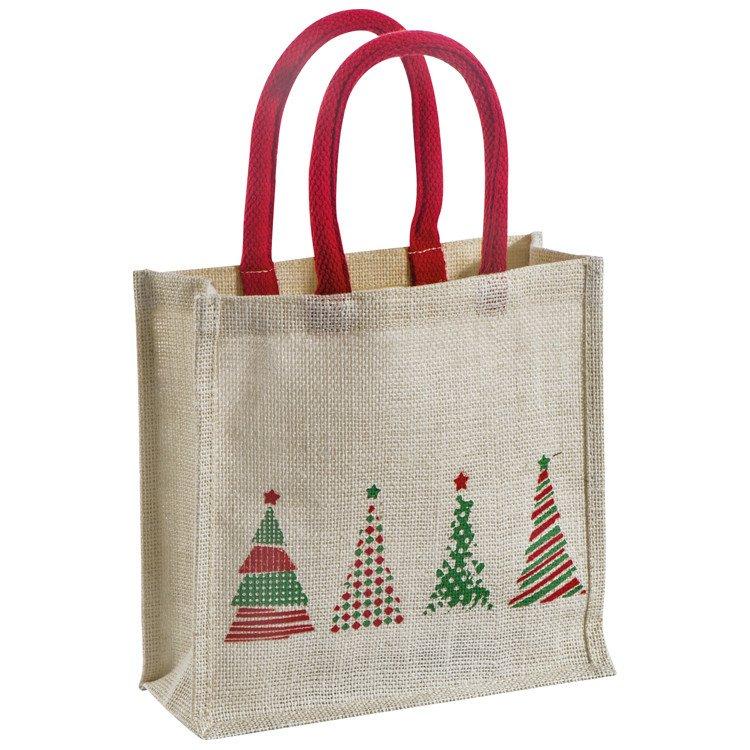 borsa di Natale di iuta (2)