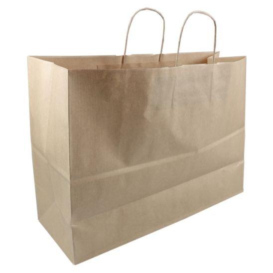 Borsa di trasporta carta marrone 45x17x33cm,