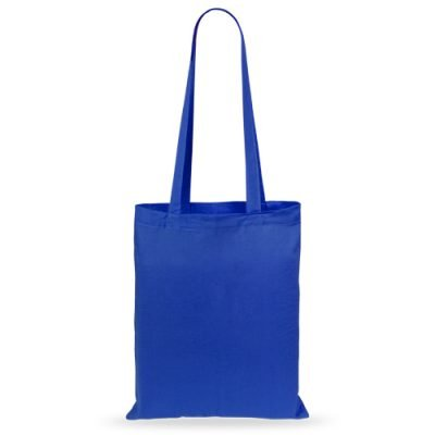 50 pezzi Borse in Cotone 36x40cm blu