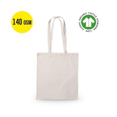 50 pezzi Borsa da Trasporto in Cotone Ecologico Qualità 140 grammi, Dimensioni 37x41 cm