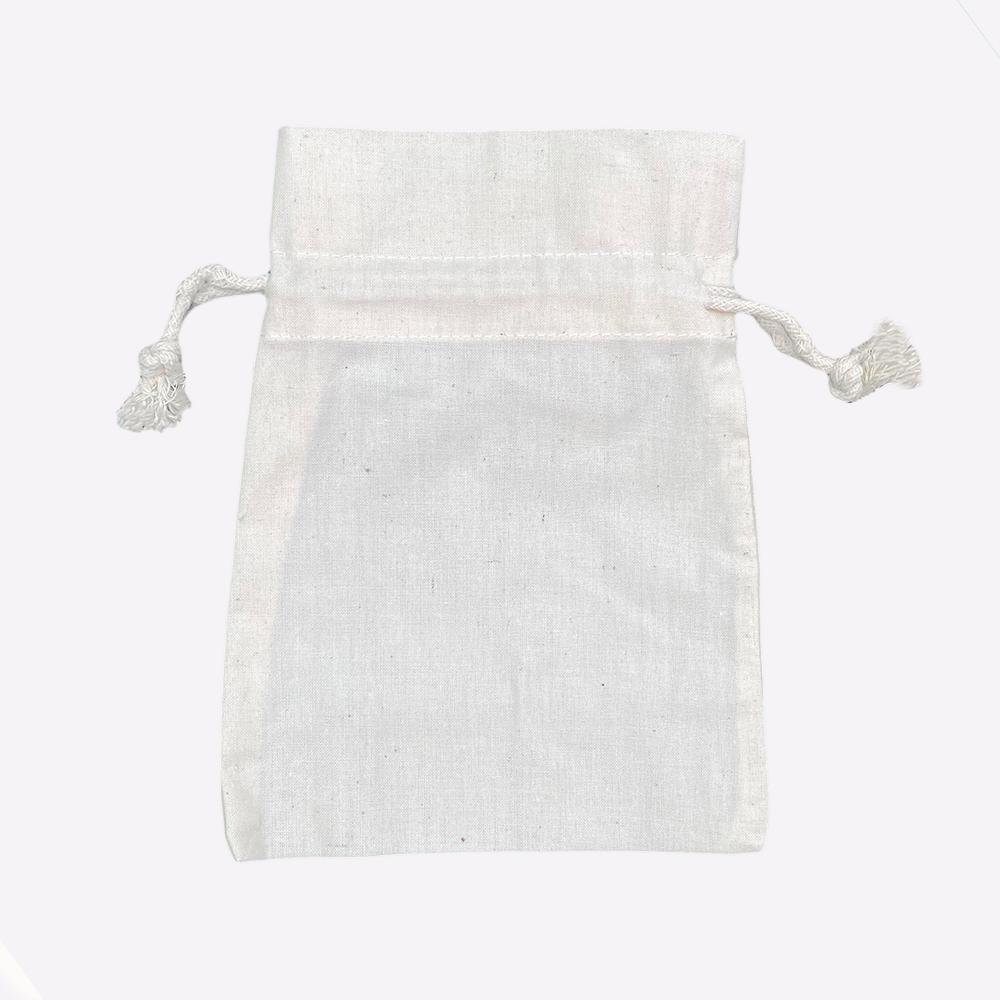 Sacchetti di cotone ecologici 116 gr m2 13x18cm
