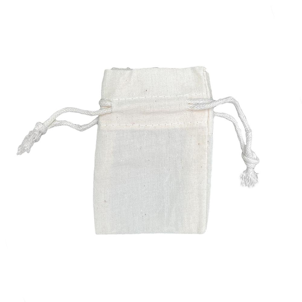 Sacchetti di cotone ecologici 116 gr m2 6x9cm